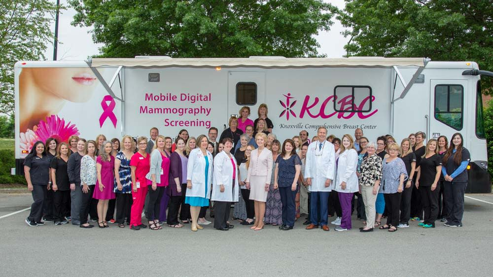 Team Members of Knoxville Comprehensive Breast Center